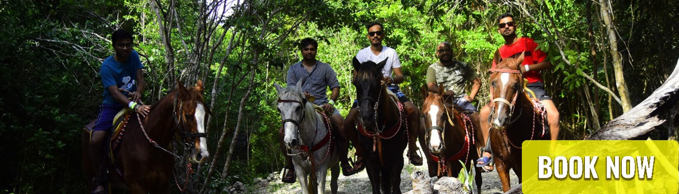 horse-ride-cancun-jungle